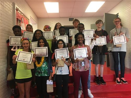 August Character Trait Recipients