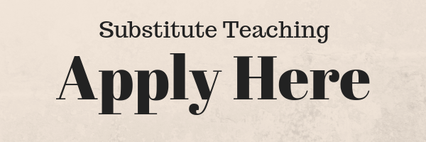 Substitute teaching: Apply here