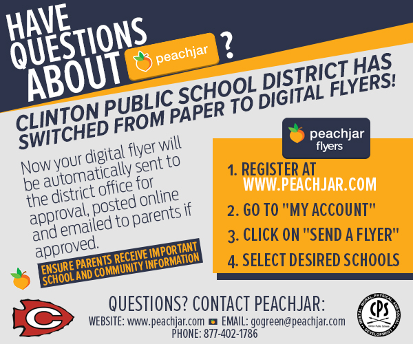 Visit www.peachjar.com to send fliers to parent emails