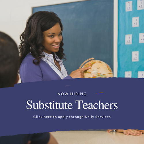 Apply to be a substitute teacher (click here)