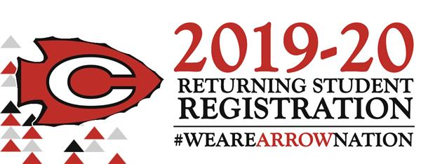 2019-20 Returning Student Registration