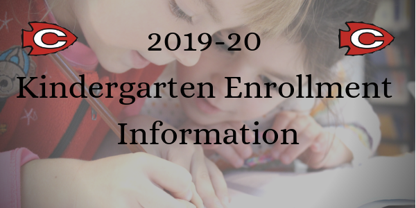 2019-20 Kindergarten Enrollment Information