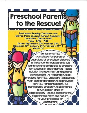 Parents of Preschoolers Parent Academy