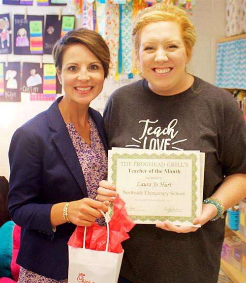 Teacher of the Month (August)