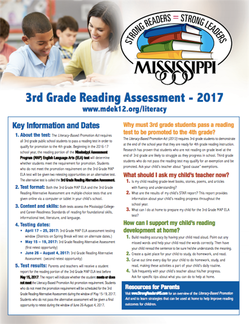 3rd grade reading assessment
