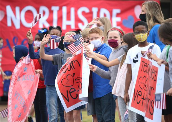 GALLERY: Northside Elementary celebrates Veterans Day