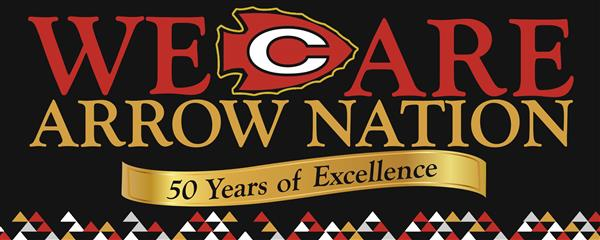 We Are Arrow Nation 50 Years of Excellence