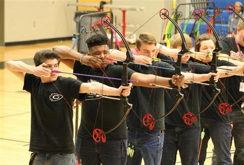 Archery is one of 18 Scholar Teams at CHS this year