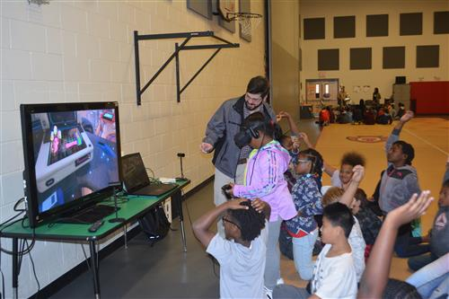 Eastside students learn about virtual reality