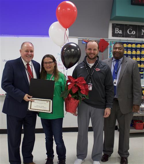 Renee Smith is the CPSD 2018-19 Teacher of the Year