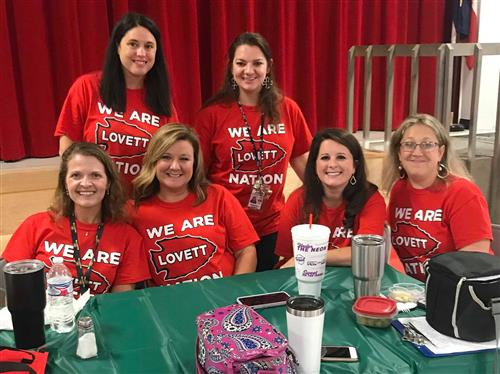 Lovett Elementary School teachers (group)