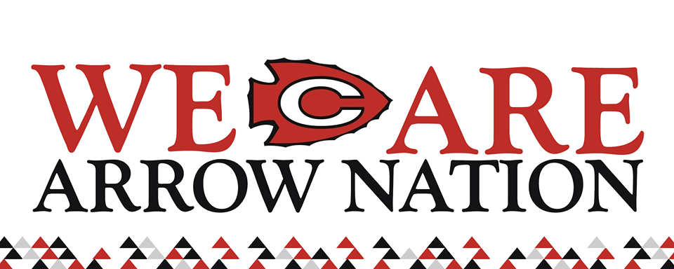 We Are Arrow Nation logo with Arrowhead