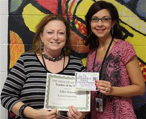 Mrs. Brunson - Teacher of the Month