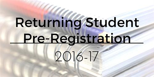 ReturningStudentRegistration