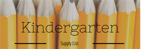 KindergartenSupply